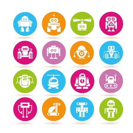 conveyer: robot icons