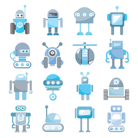 robot: robot icons
