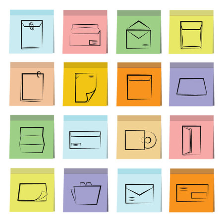monograph: letter icons
