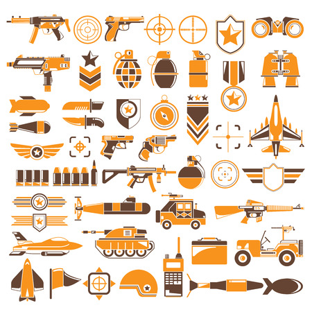 weapon: weapon and war icons