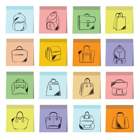 suede: bag icons