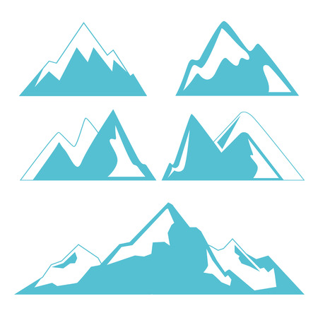 góra Ilustracje wektorowe