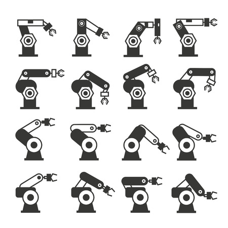 droid: robot icons