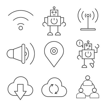 interact: internet icons