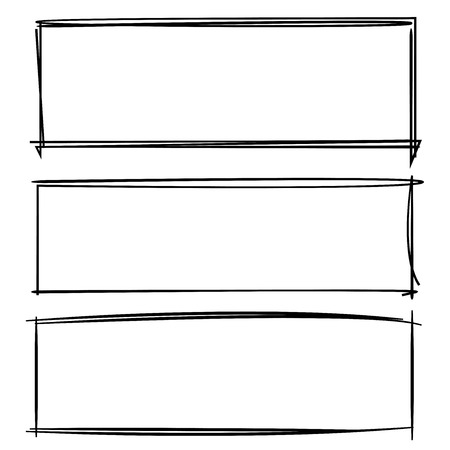 rectangle frame: grunge rectangle frame