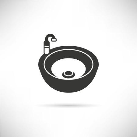 watery: sink