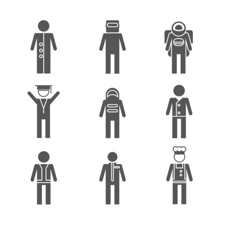 icons: people icons Illustration