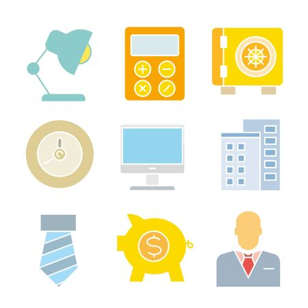 icons: business icons, finance icons