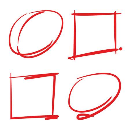 marker: elementos de línea marcador