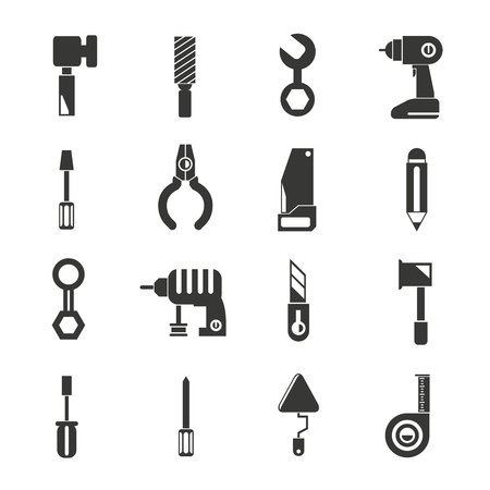 hand shovels: tool icons