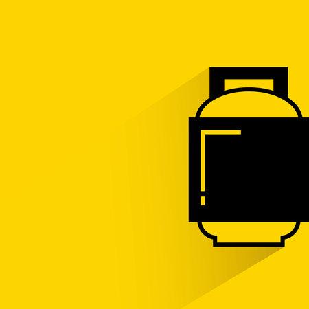 gas cylinder: gas balloon