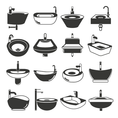 icons: sink icons, basin icons