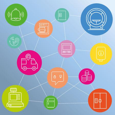 internet network: internet of things network