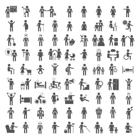 mensen iconen