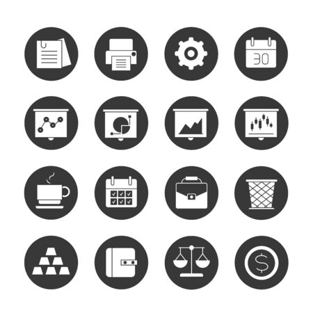 funds: office icons