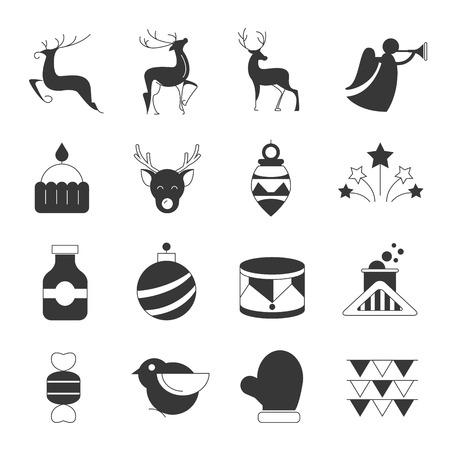 clack: christmas icons