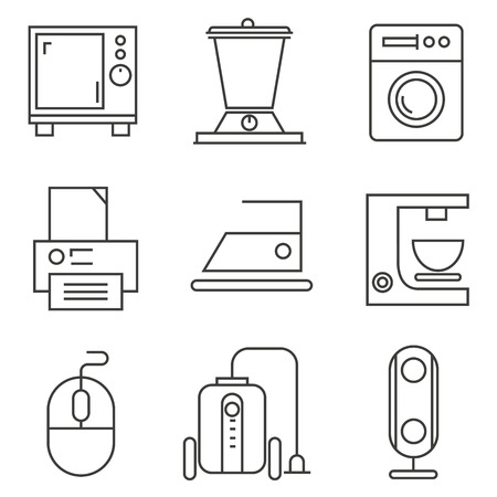 ware: kitchen ware icons