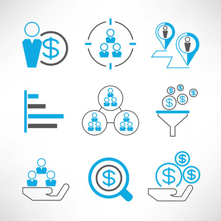 workmate: organization management icons