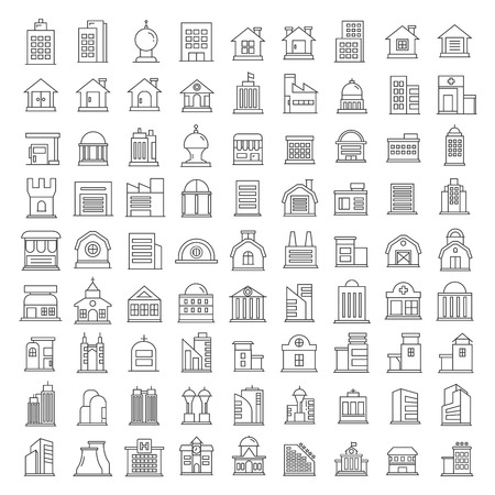 headquarter: building icons