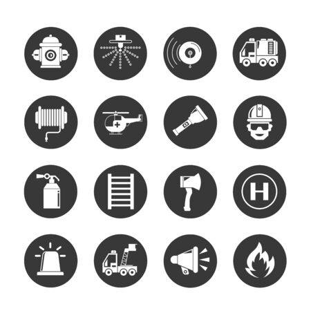 speaker icon: fire fighter icons