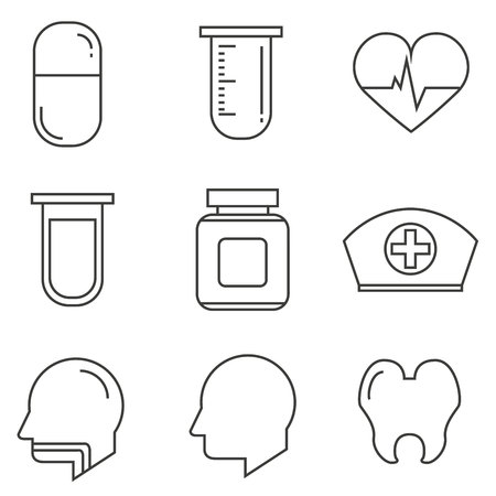 medical signs: medical icons