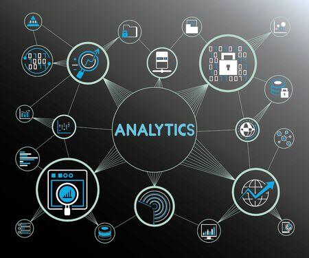 analytics concept Vetores