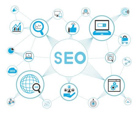 search engine optimization: seo, search engine optimization concept
