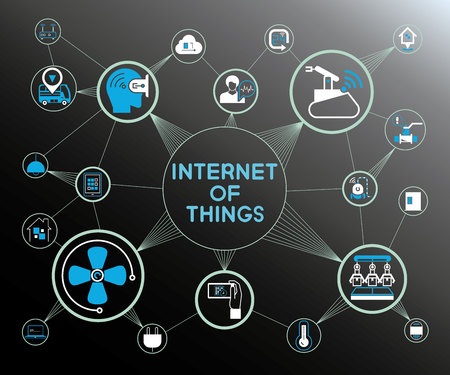 internet of things, IoT concept