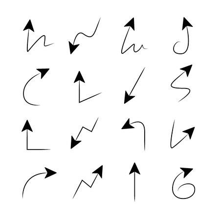 designator: arrow icons Illustration