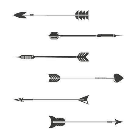 flechas direccion: Arrow collection, hipster style Vectores