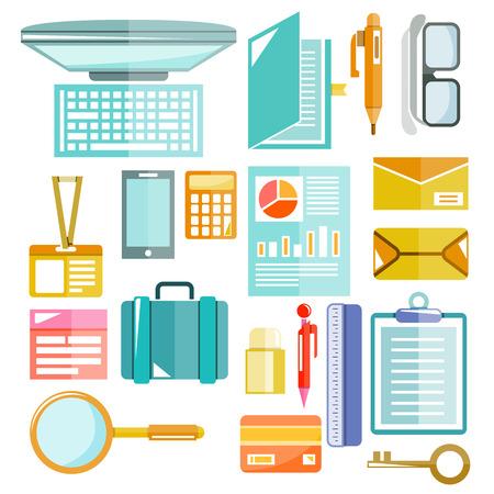 사무용품 세트, 사무실 용 테이블 도구