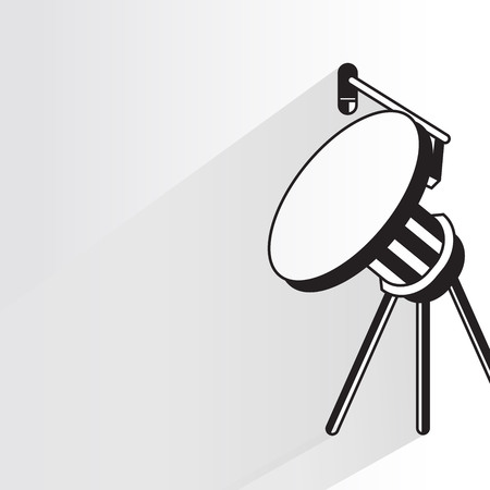 communication antenna tower Vector illustration.