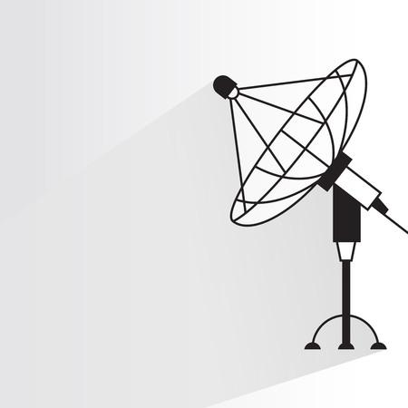 satellite dish antennas Banco de Imagens - 88048085