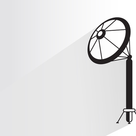 communication tower Иллюстрация