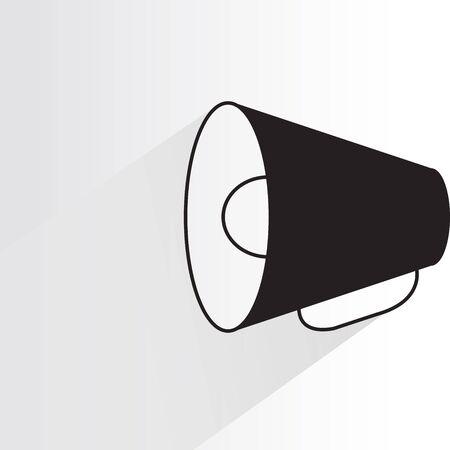 loudspeaker megaphone vector illustration