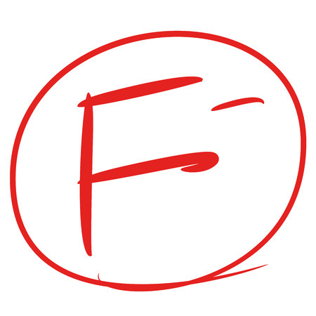 false minus grade