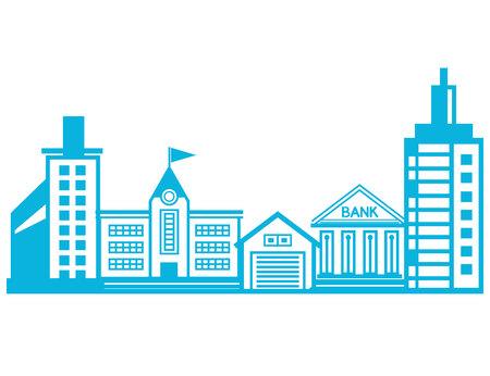 cityscape, building design
