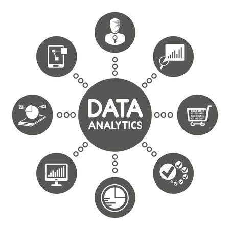 data analytics network diagram