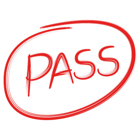Pass vector illustration Иллюстрация