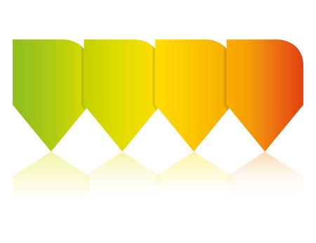 colorful pin diagram template
