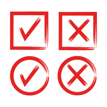 Red grugne check list