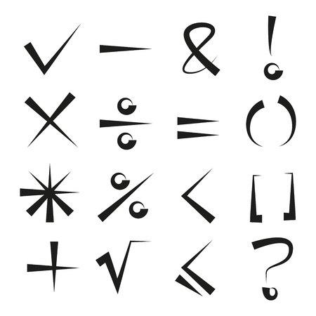 math signs, check mark