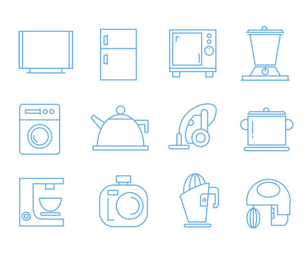home appliance icons