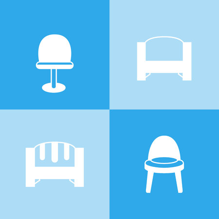 sofa icons, chair icons