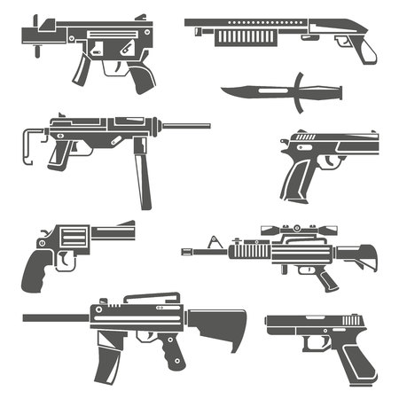 gun, weapon Illustration
