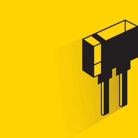 diode, resistor Illustration