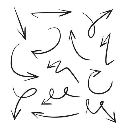 flechas de dibujo