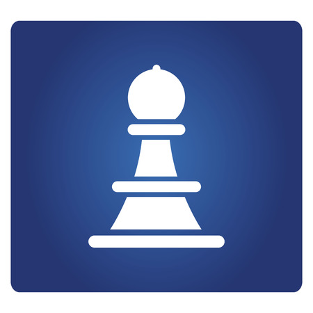 chess icon in blue background