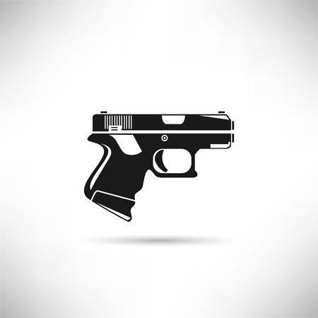 pistol symbol