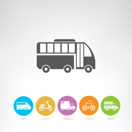 transportation and vehicle icons